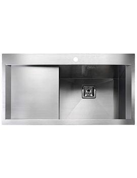 Senator 1.0 Bowl Stainless Steel Kitchen Sink Left Hand Drainer