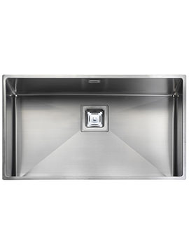 Atlantic Kube 1.0 Bowl Undermount Kitchen Sink 730 x 430mm
