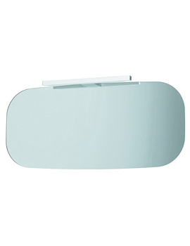 Mimo Mirror With Light 1000 x 450mm - White