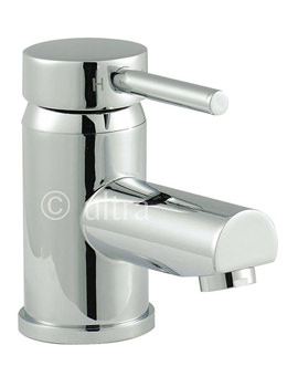 Related Ultra Quest Mono Basin Mixer Tap With Push Button Waste - QUE305