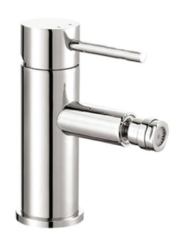 Ivo Single Lever Bidet Mixer Tap With Clicker Waste - IVBID