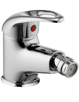 Dv8 Bidet Mixer Tap With Clicker Waste - DVBID