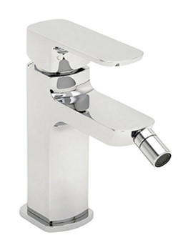 Vamp Mono Bidet Mixer Tap With Pop Up Waste Chrome - 43080