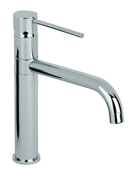 Ascot High Rise Kitchen Mixer Tap With Swivel Spout KIT015