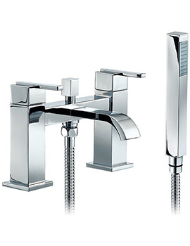 Beo Solo Deck Mounted Bath Shower Mixer Tap With Kit