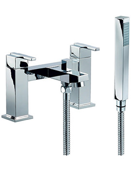 Ice Quad Lever Bath Shower Mixer Tap With No1 Kit - ISL007