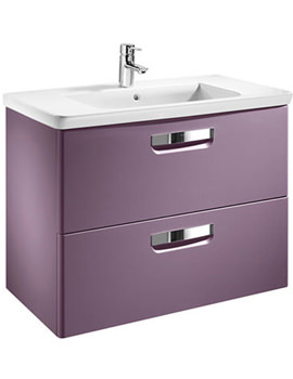 Roca The Gap Base Unit With 600mm Basin And Targa Mixer Tap - 855T10577