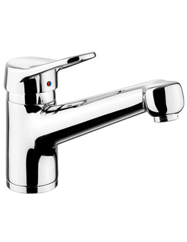 Aquaflow 4 Single Lever Kitchen Sink Mixer Tap Chrome