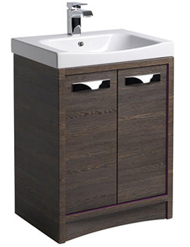 Roper Rhodes Breathe 600mm Freestanding Unit Mali-Plum Including Basin