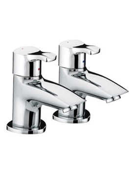 Capri Bath Taps Chrome Plated - CAP 3-4 C