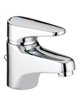 Jute Basin Mixer Tap With Eco Click Waste - JU EBAS C