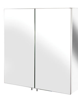 Avon Stainless Steel Double Door Small Mirror Cabinet
