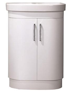 Luxe Floorstanding 2 Door Washstand And Basin - LUF620W