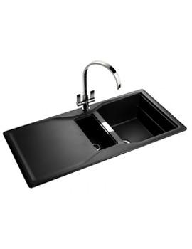 Magma 1.5 Bowl Igneous Granite Sink - Ash Finish