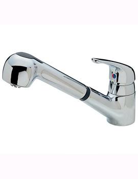 Modena Deluxe Dual Flow Mono Sink Mixer Tap - 174