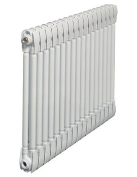 Monza White Horizontal 2 Column Radiator 1000 x 420mm