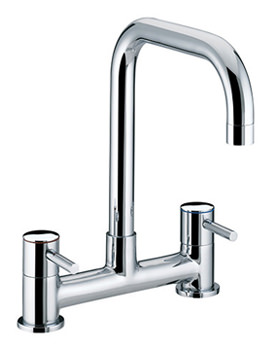 Bristan Torre Deck Kitchen Sink Mixer Tap - TO DSM C