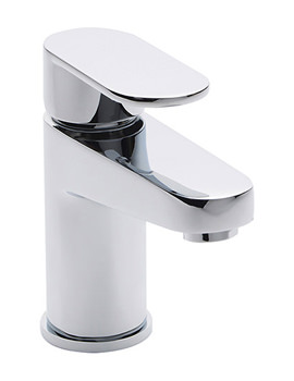 Tranquil Mono Basin Mixer Tap With Click Clack Waste