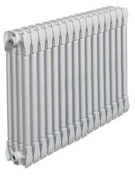 Monza White Horizontal 4 Column Radiator 800 x 570mm