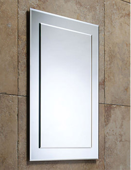 Elle Bevelled Mirror on Mirror - MPS403