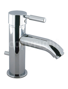 Design Monobloc Basin Mixer Tap With Pop Up Waste