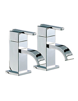 Ice Fall Lever Bath Taps Pair - IFL003