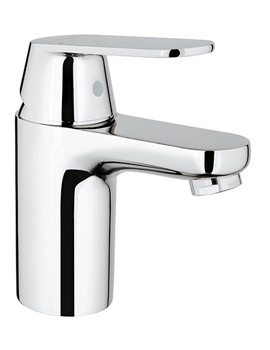 Grohe Eurosmart Cosmopolitan Single Basin Mixer Tap With Metal Lever