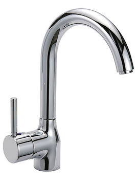 Solar Saturn Mono Sink Mixer Tap Chrome