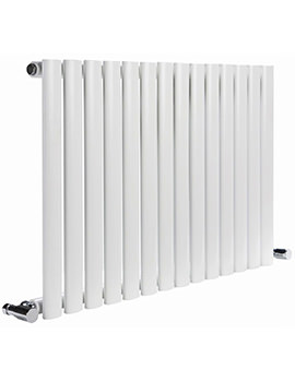 Cove 413 x 550mm Single Sided Horizontal Radiator White
