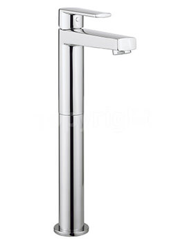Related Crosswater Solo Tall Monobloc Basin Mixer Tap Chrome - SO112DNC