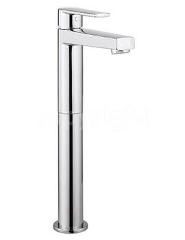 Solo Tall Monobloc Basin Mixer Tap Chrome - SO112DNC