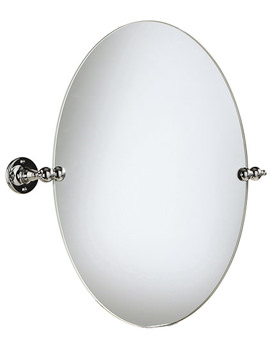 Heritage Oval Swivel Mirror Chrome - AHC17
