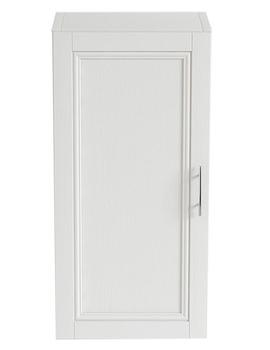 Heritage Caversham Traditional White Ash 320mm Wall Cabinet