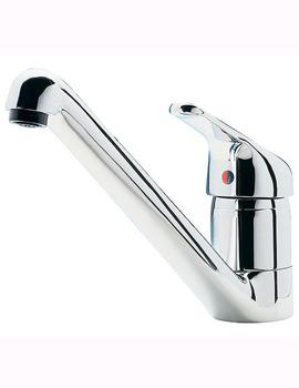 Tre Mercati Modena Chrome Dual Flow Mono Sink Mixer Tap