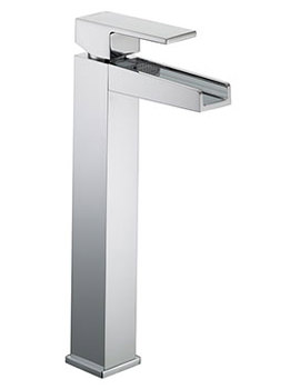 Related Bristan Hampton Tall Basin Mixer Tap Chrome Without Waste  - HA TBAS C