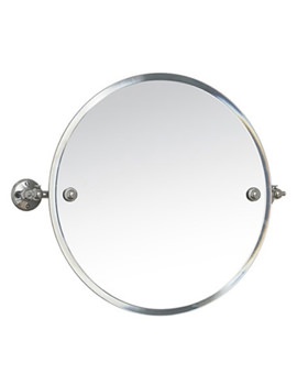 Stockholm 450mm Round Swivel Mirror - 641C