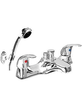 Phoenix JA Series Deck Mounted Bath Shower Mixer Tap With Shower Kit