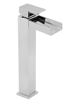 Sparkle Tall Mono Basin Mixer Tap - SPA113-EX