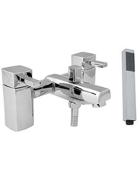 Rubic Bath Shower Mixer Tap With Shower Kit - RUB106