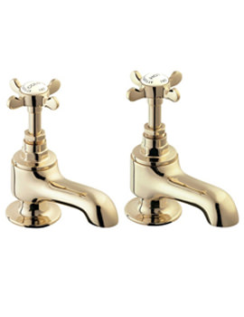 Coronation Bath Taps Gold - CR20-501