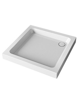 Flight 2 Upstand Square Shower Tray 900 x 900mm With Waste