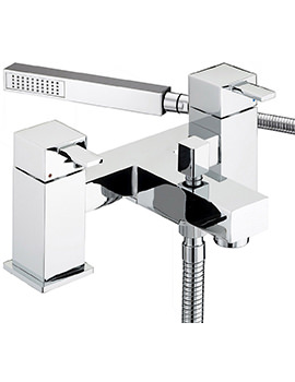 Quadrato Bath Shower Mixer Tap - QD BSM C