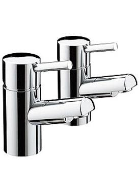 Bristan Prism Bath Taps Chrome - PM 3-4 C