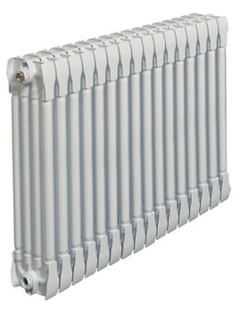 Monza White Horizontal 4 Column Radiator 1000 x 420mm