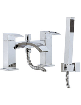 AF Series Deck Mounted Bath Shower Mixer Tap With Shower Kit