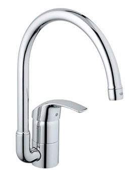 Eurosmart High Spout Half Inch Sink Mixer Tap - 33202001