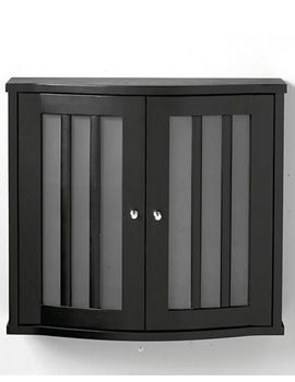 Imperial Linea Wall Cabinet With 2 Curved Doors Wenge - XG34WCG042
