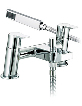 Bristan Pisa Bath Shower Mixer Tap - PS BSM C