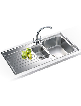 Related Franke Ascona Propack ASX 651 Stainless Steel Kitchen Sink And Tap