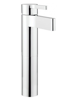 Related Crosswater Svelte Tall Monobloc Basin Mixer Tap - SE112DNC